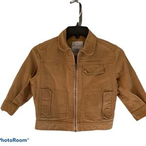 Trussardi brown jacket made in Italy kids 4